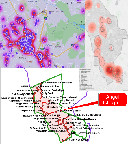 Heat source and network maps