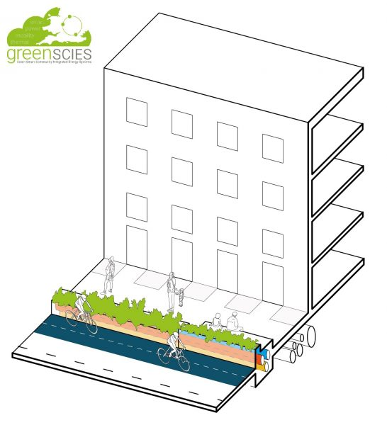 Schematic design for GreenSCIES planters